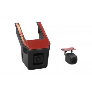 Redpower DVR-UNI-N Dual - универсальный двухканальный Wi-FI регистратор скрытой установки (Full HD + Full HD) с интеграцией в ножке зеркала