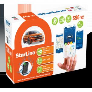 Автосигнализации  StarLine S96 V2 BT 2CAN+4LIN GSM-GPS