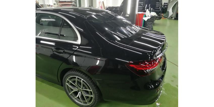 Тонирование Mercedes W213